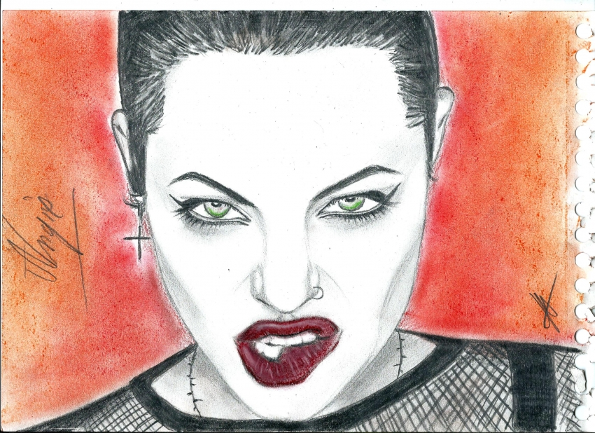 Angelina Jolie by isabella1988